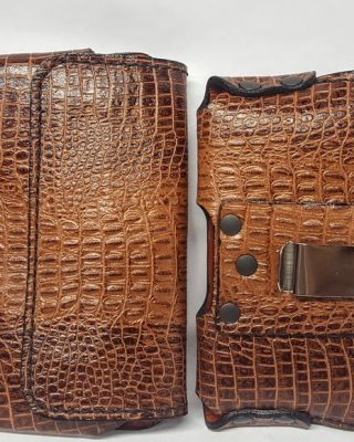 Exotic Leather Cell Phone Cases