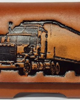 Embossed Leather Cell Phone Cases