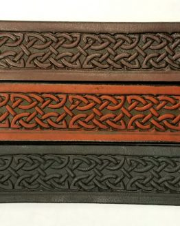 Assorted Design Embossed Leather Belts
