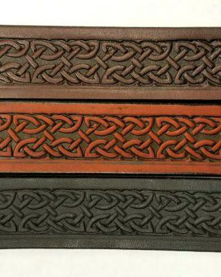 Assorted Design Embossed Leather Belts