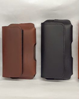 Plain Leather Cell Phone Cases