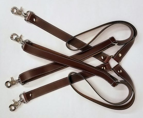 """These handmade Leather Suspenders are 1"""" wide (1 inch) unless otherwise mentioned. Very sturdy suspenders with no elastic are adjustable to will fit larger people as well."""