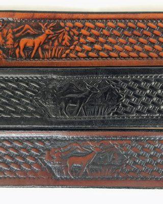 Wild Life Design Leather Belts